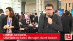 Hervé Brenier, Responsable Distribution Europe chez Saint-Gobain au forum (...)